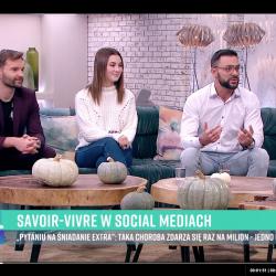 SAVOIR-VIVRE W SOCIAL MEDIACH